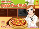 Tessas cook summer pizza Hawai