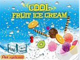 Cool fruit ice cream  -