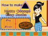 How to make nutty orange flap jacks - Juegos de cocinar pasteles