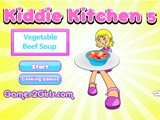 Kiddies Kitchen 5 : Vegetable Beef Soup  -