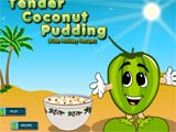Tender coconut pudding  -