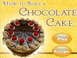 Juego de cocina: Chocolate cake
