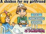 Juegos de Cocina: A Chicken for my girlfriend
