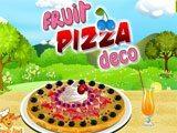Juegos de cocina: Fruit Pizza Deco