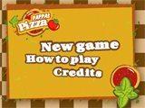 Juegos de cocina: Pappas pizza