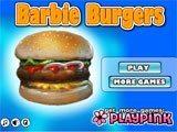 Juegos de Cocina: Barbie Burgers