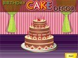 Juegos de cocina: Birthday Cake Decor