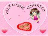 Juegos de cocina: Valentine Cookies