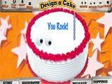 Juegos de cocina: Design a Cake