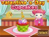 Juegos de cocina: Valentines Days CupCakes