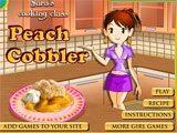 Juegos de cocina: Peach Cobbler
