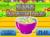 Juegos de Cocina: Macaroni Salad