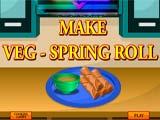Juegos de Cocina: Vegetable Rolls