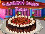 Juegos de cocina: Caramel Cake Deco
