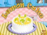 Juegos de cocina: Lemon Cake