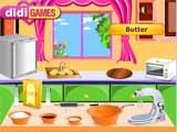 Juegos de cocina: galletas de mantequilla