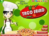 Sara´s Cooking Class: Taco Salad