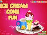 Juegos de Cocina: Ice Cream Cone Fun
