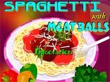 Juegos de Cocina: Spaguetti con albondigas